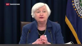 Video «Leitzinserhöhung in den USA» abspielen