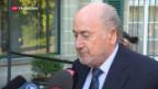 Video «Sepp Blatter vor Gericht in Lausanne» abspielen