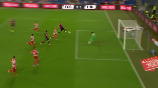 Video «Fussball: Super League 2015/16, 5. Runde, Basel - Thun» abspielen
