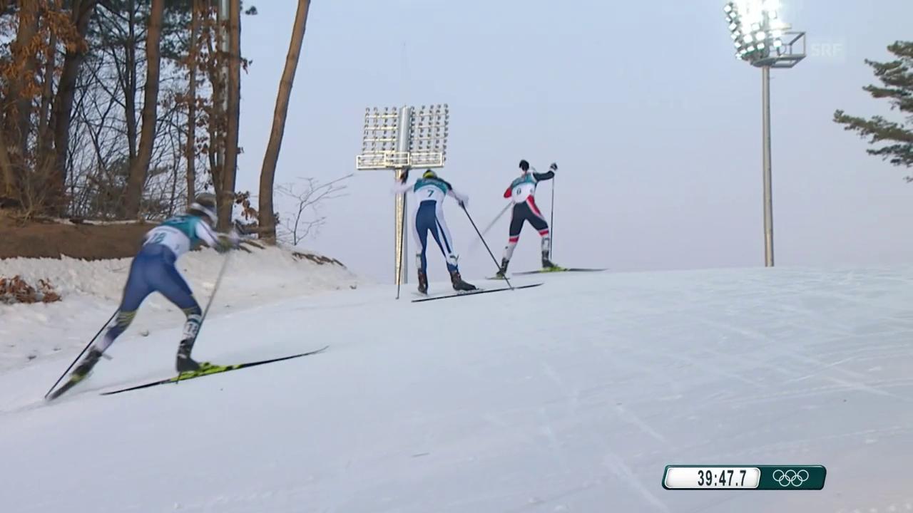 Schwedin Kalla holt das erste Gold der Spiele in Pyeongchang