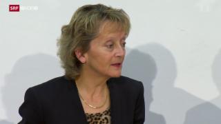 Video «Eveline Widmer-Schlumpf tritt zurück» abspielen