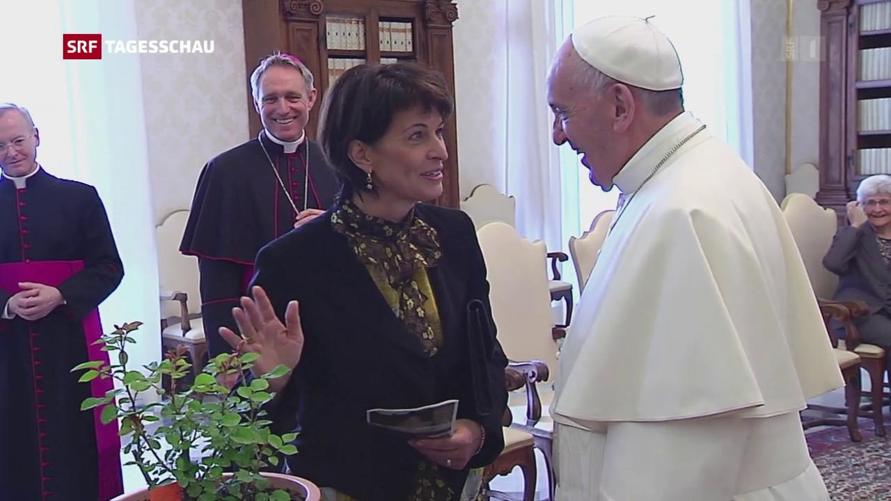 Bundespräsidentin beim Papst