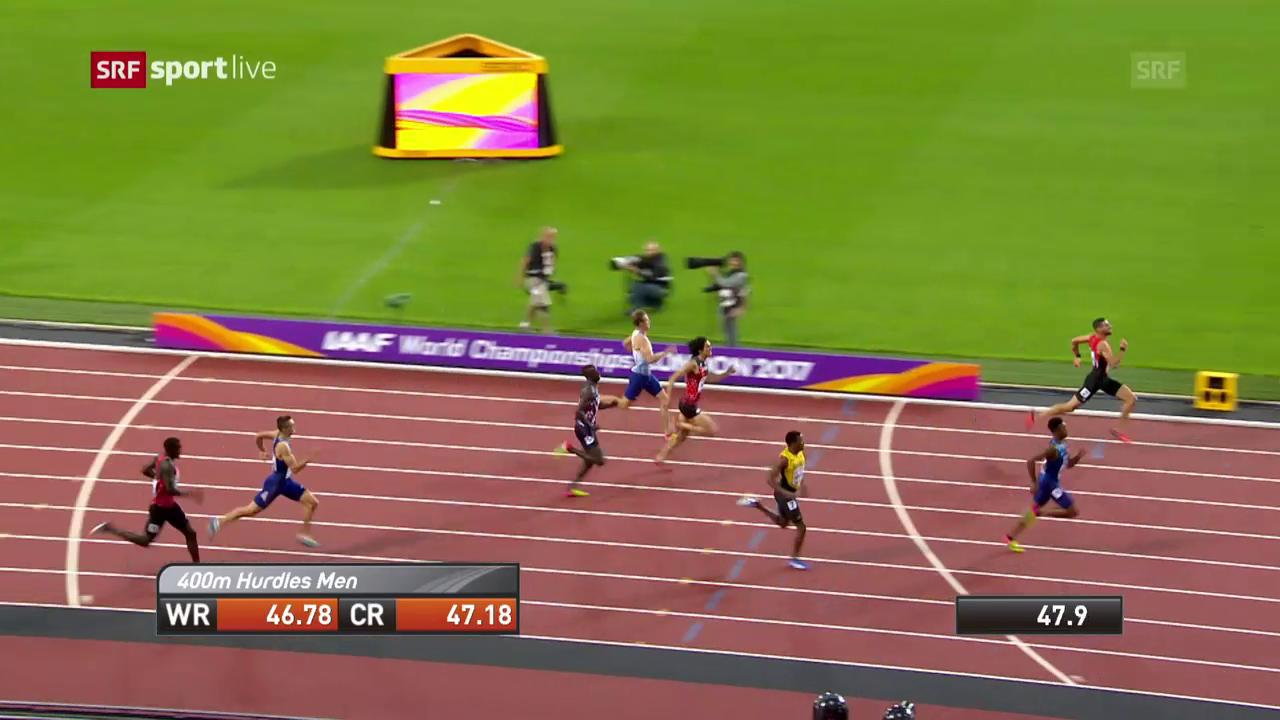 Der Halbfinal-Lauf von Kariem Hussein