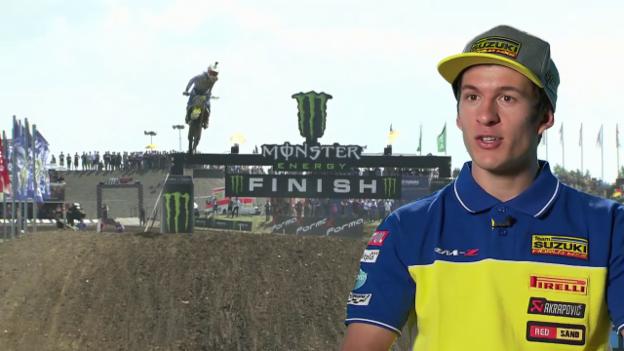Video «Jeremy Seewer erklärt die Renntaktik eines Motocrossers» abspielen