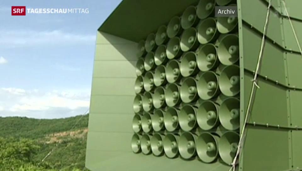 Lautsprecher-Krach in Korea ist aus