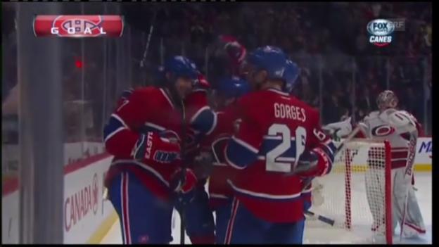 Video «NHL: Montréals kurioses 3. Tor» abspielen
