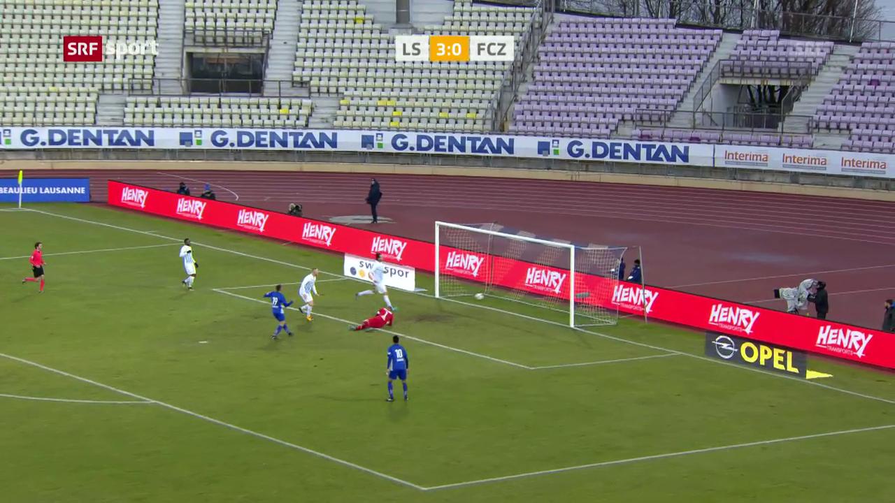 Lausanne lässt dem FCZ keine Chance