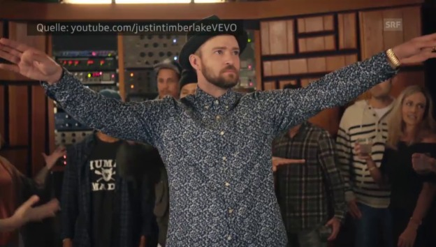 Video «Justin Timberlake «Can't Stop The Feeling!»» abspielen