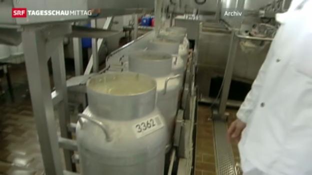 Video «Krise bei den Schweizer Milchproduzenten» abspielen