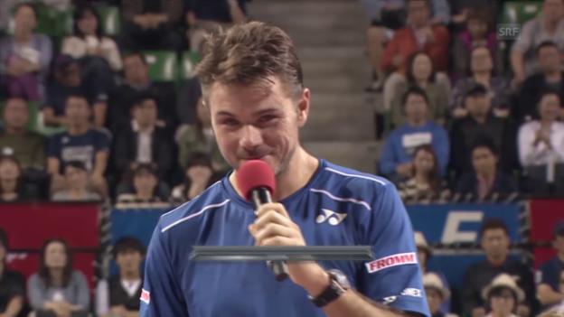 Video «Te: ATP Tokio, Inti Stan ohne japanisch» abspielen