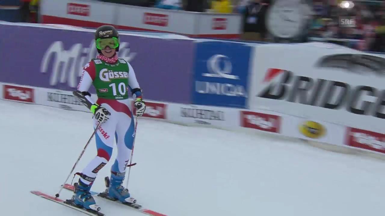 Ski: Riesenslalom Frauen in Kühtai