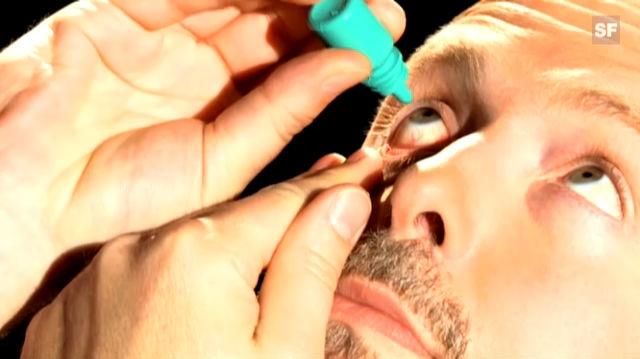 Wie verwende ich Augentropfen richtig?