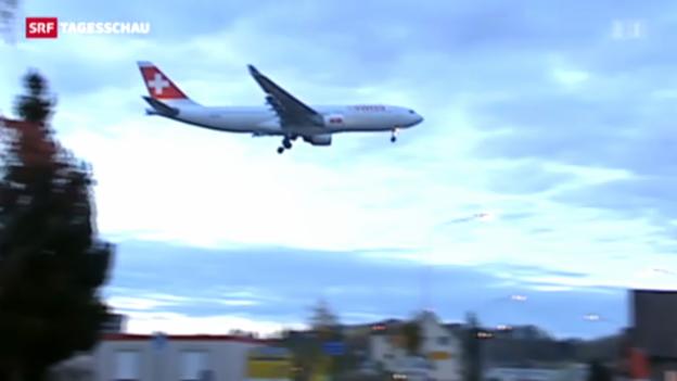 Video «Grünes Licht für Fluglärmvertrag mit Deutschland» abspielen