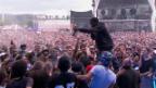 Video «Travis Scott tickt aus - Openair Frauenfeld 2015» abspielen