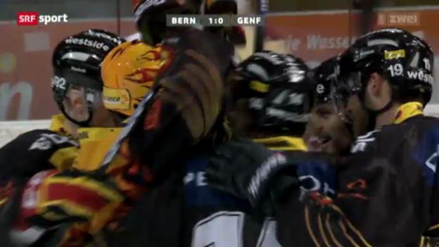 Video «Eishockey: SC Bern - Genf» abspielen
