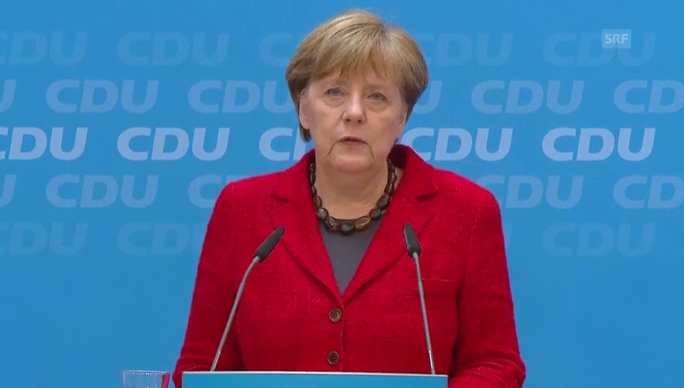 Merkel hält an Flüchtlingspolitik fest