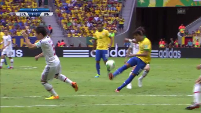 Confed Cup: Highlights Brasilien - Japan («sportlive»)