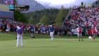 Video «Fitzpatrick schafft Titelverteidigung» abspielen