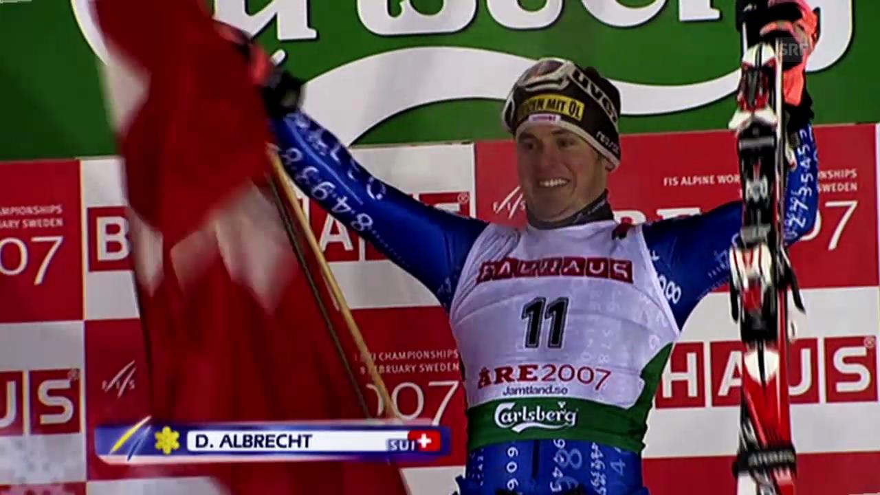 Ski: Die Karriere von Daniel Albrecht