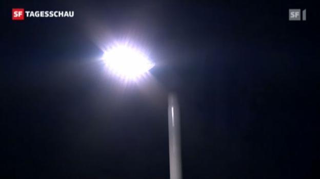 Video «Strassenbeleuchtung auf Abruf wird getestet» abspielen
