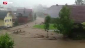 Video «Unwetter auch im Kanton Luzern » abspielen