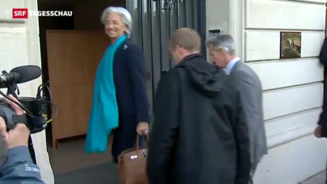 Richter vernehmen IWF-Chefin zur Finanzaffäre