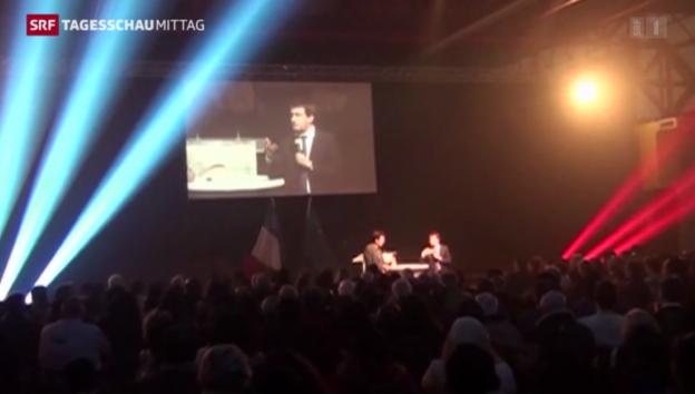 Video «Geringe Wahlbeteiligung in Frankreich» abspielen