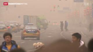 Video «Andauernder Smog in Peking» abspielen