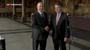 Video «Annäherung zwischen Deutschland und der Türkei» abspielen