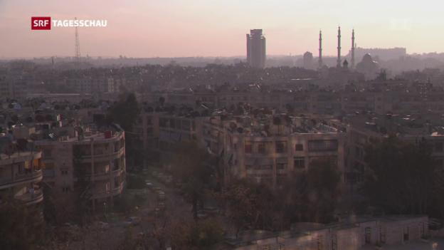 Video «Wie weiter in Syrien nach den US-Luftschlägen?» abspielen