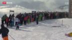 Video «Zweiklassensystem am Skilift» abspielen