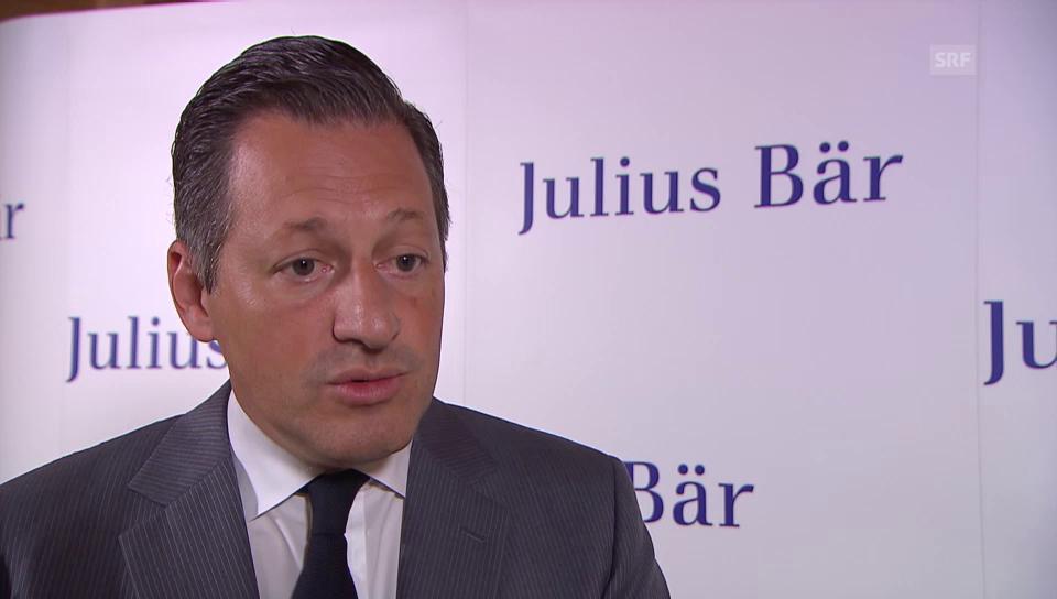 Boris Collardi über die positiven Auswirkungen des Brexits für Julius Bär.