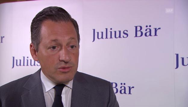 Video «Boris Collardi über die positiven Auswirkungen des Brexits für Julius Bär.» abspielen