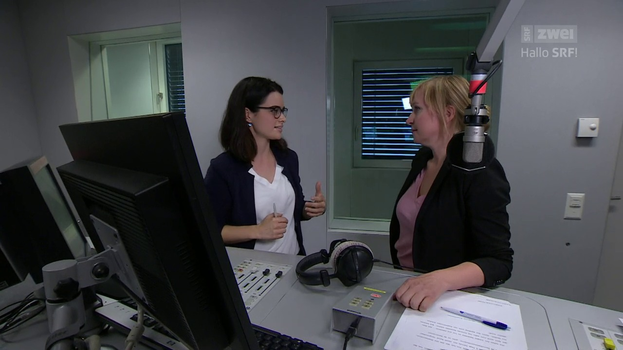 Catherine Morgentaler, Reporterin fürs «Echo der Zeit»
