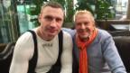 Video «Kurt Aeschbacher trifft in Kiew Vitali Klitschko» abspielen