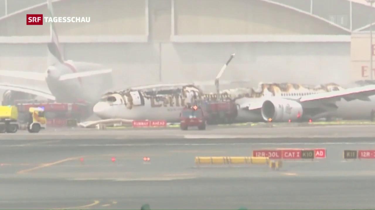Bruchlandung in Dubai: Wollten die Piloten durchstarten?