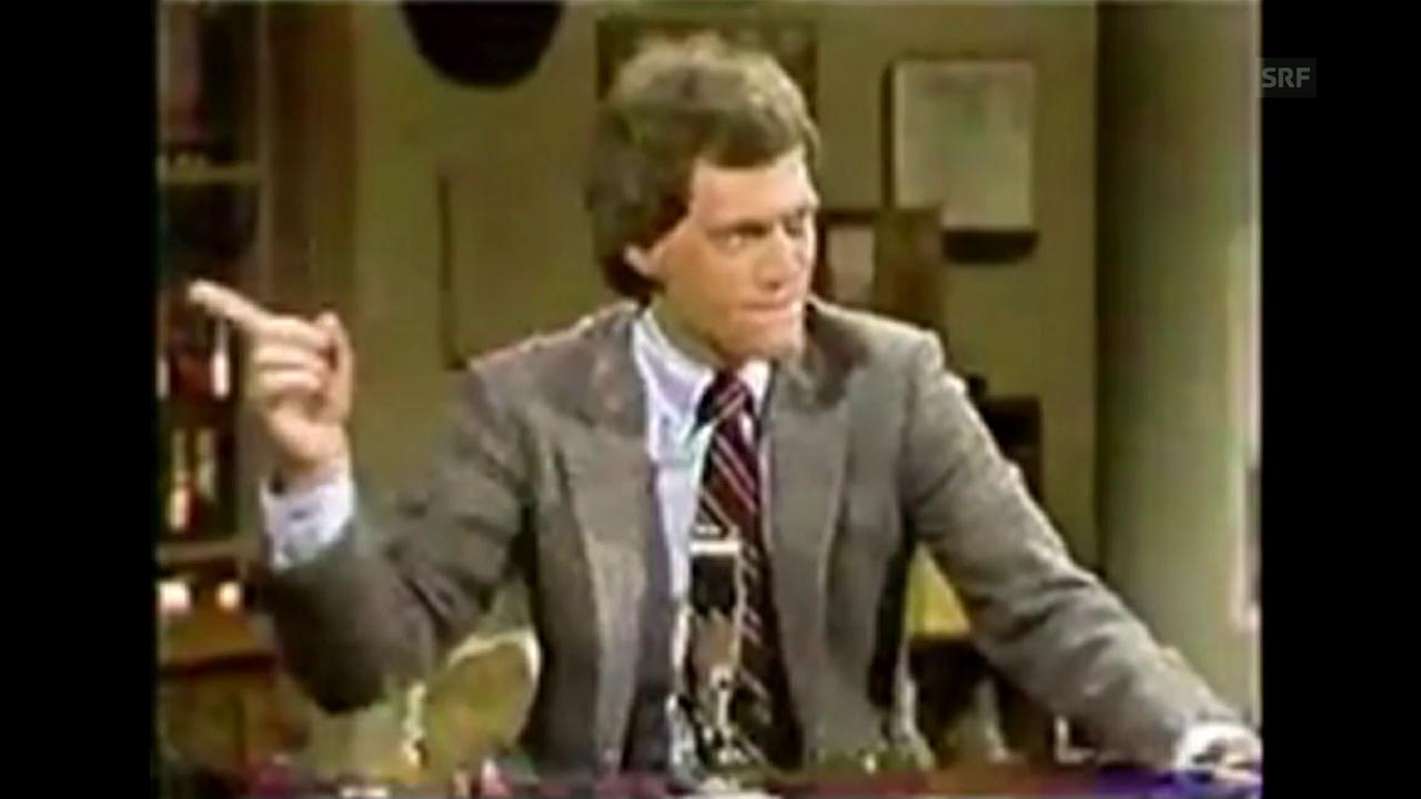 David Lettermans erste Show