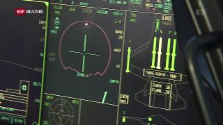 Video «Stelldichein der Kampfjethersteller in Sion» abspielen