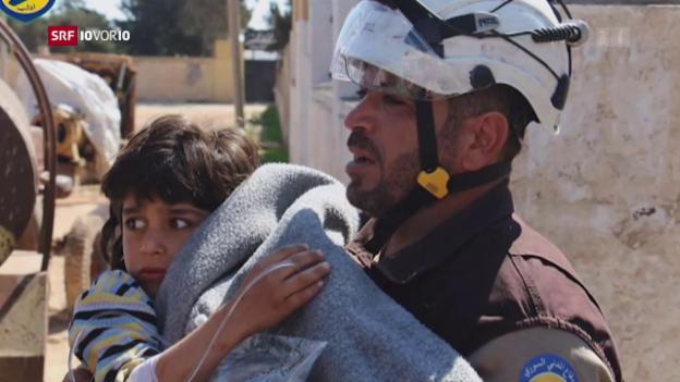 Video «Giftgasangriff in Syrien» abspielen