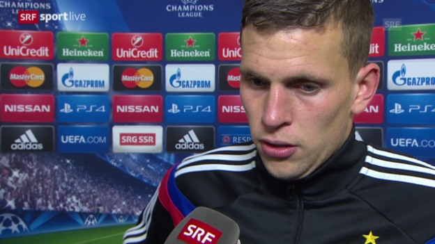 Video «Fussball: Champions League, Basel - Real Madrid, Interview mit Fabian Frei» abspielen