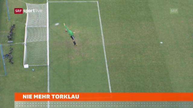 Torlinientechnik an der WM 2014 («sportaktuell»)