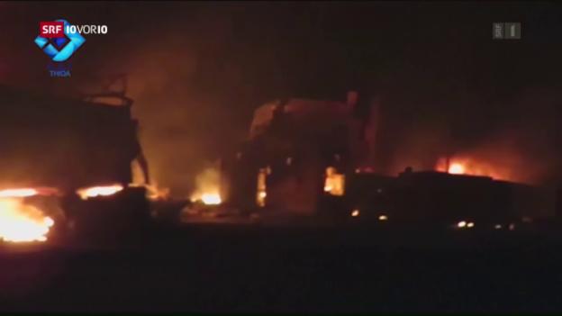 Video «Neue Schuldzuweisungen nach Angriff auf Konvoi» abspielen