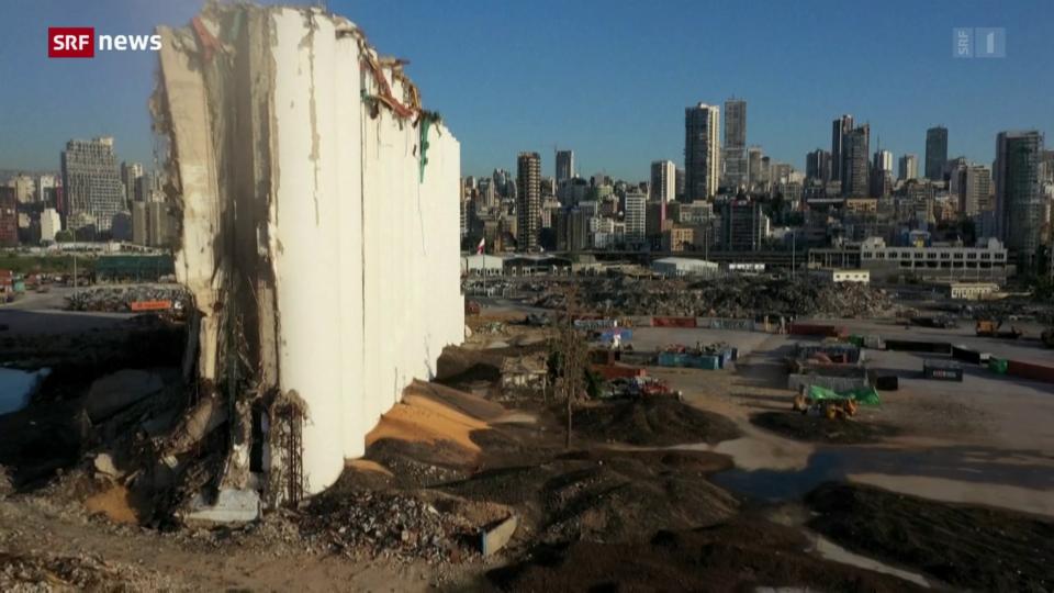 Aus dem Archiv: Ein Jahr nach der Explosion im Hafen Beirut