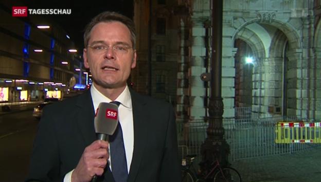 Video «SRF-Korrespondent Stefan Reinhart zum Fall Hoeness.» abspielen