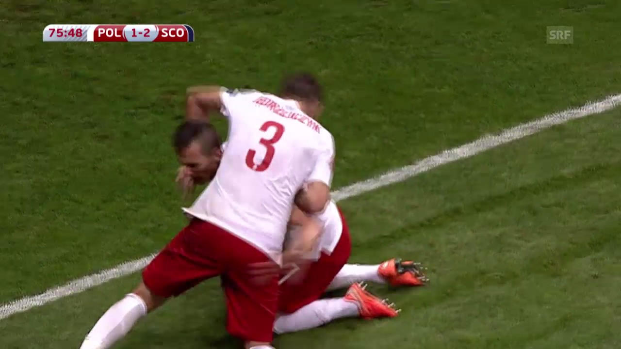 Fussball: Polen-Schottland
