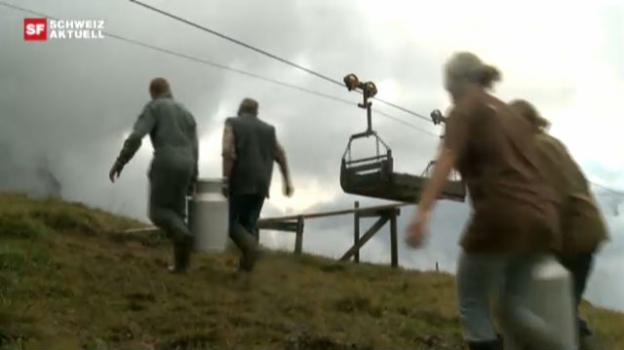 Video «Leben auf der Alp» abspielen