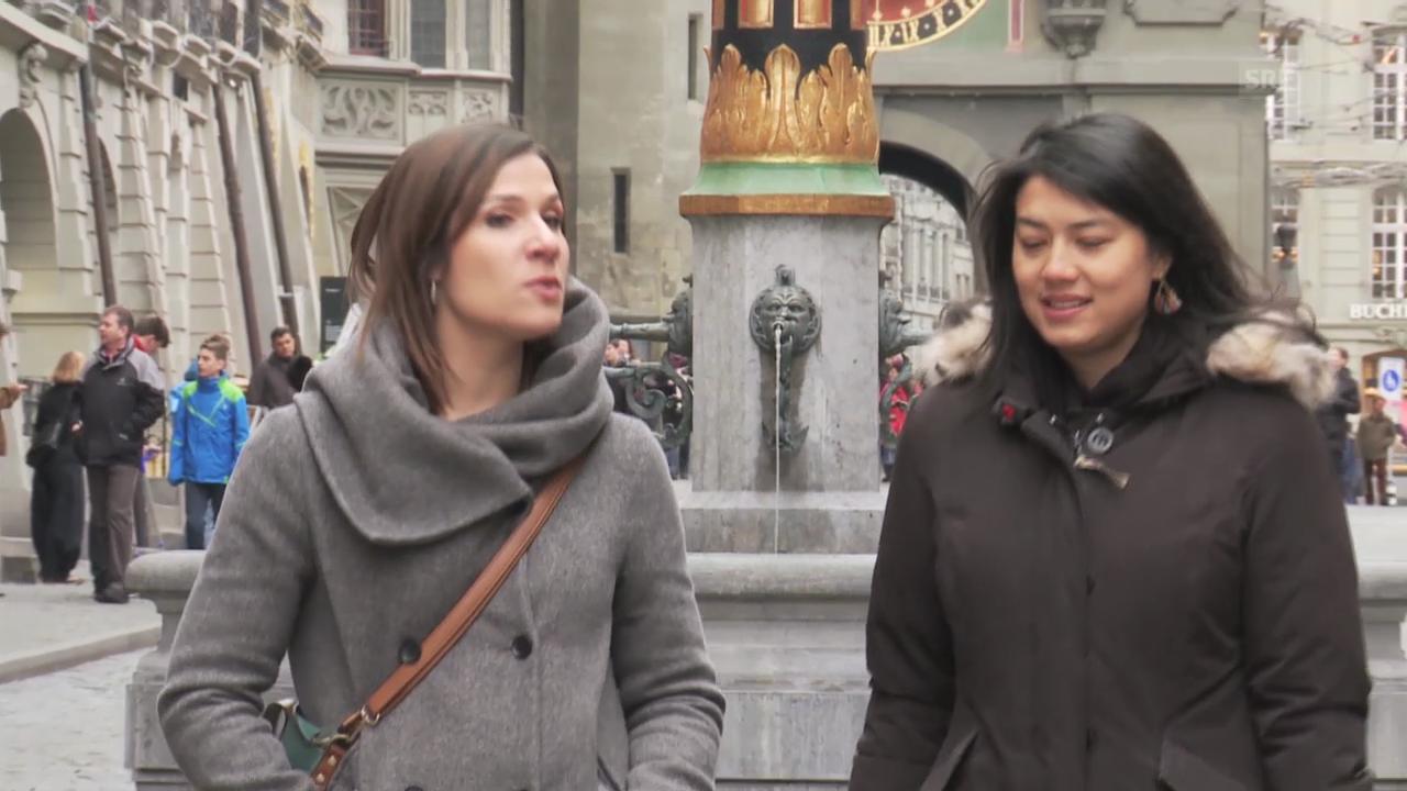 Stadtrundgang mit Talent Carla Quartas
