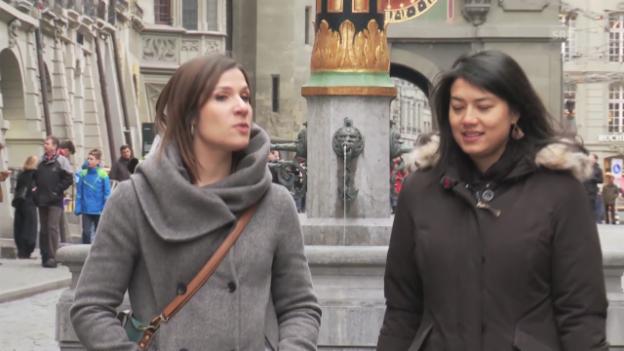 Video «Stadtrundgang mit Talent Carla Quartas» abspielen