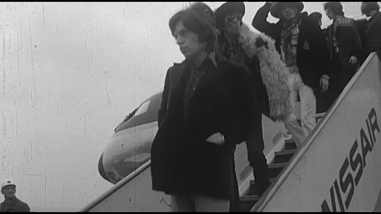 Rolling Stones zum ersten Mal in der Schweiz