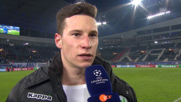 Video «Julian Draxler nach Doppelpack gegen Gent: «Den Ball behalte ich»» abspielen